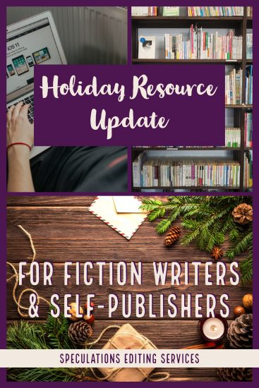 Resources for Fiction Writers—Holiday Update!
